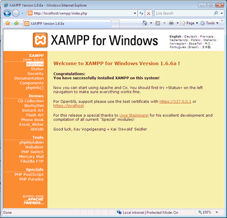 PHP XAMPP Installation - php tutorial - php online - Phptpoint com