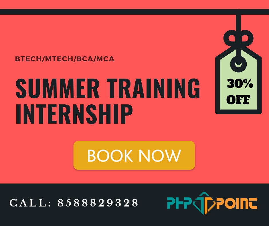 Summer Training Internship