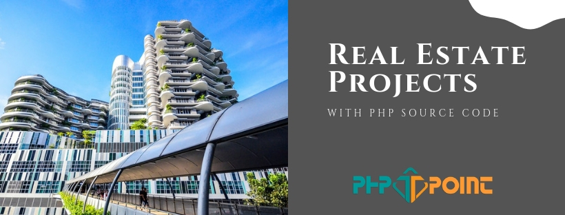 download real estate system project in PHP with source code
